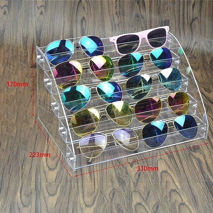 Multi-Capas L/ápiz Labial Transparente Soporte para Esmalte de u/ñas Soporte de exhibici/ón Acr/ílico Transparente Organizador de Almacenamiento de Maquillaje port/átil Rack-Transparente 7 Capas