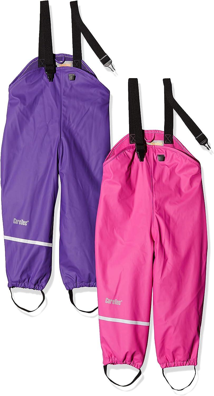CareTec Kids Rainpaints with Fleece Lining, 86 Royal Purple 6330