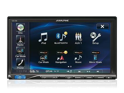 Alpine ICS-X8 sintonizador de CD/DVD para el coche - Radio para coche