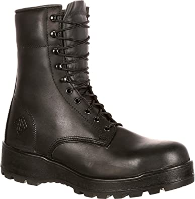 Lehigh Safety Shoes Steel Toe Work Boot Brown