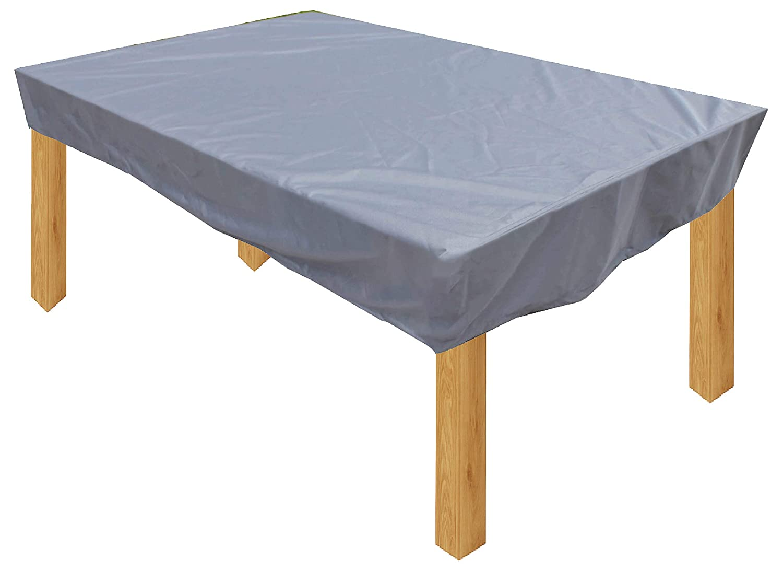 KaufPirat Premium Housse de Protection B/âche Imperm/éable 200x100x15 cm Couverture de Table de Jardin Housse protectrice pour mobilier de Jardin en Polyester Oxford Anthracite