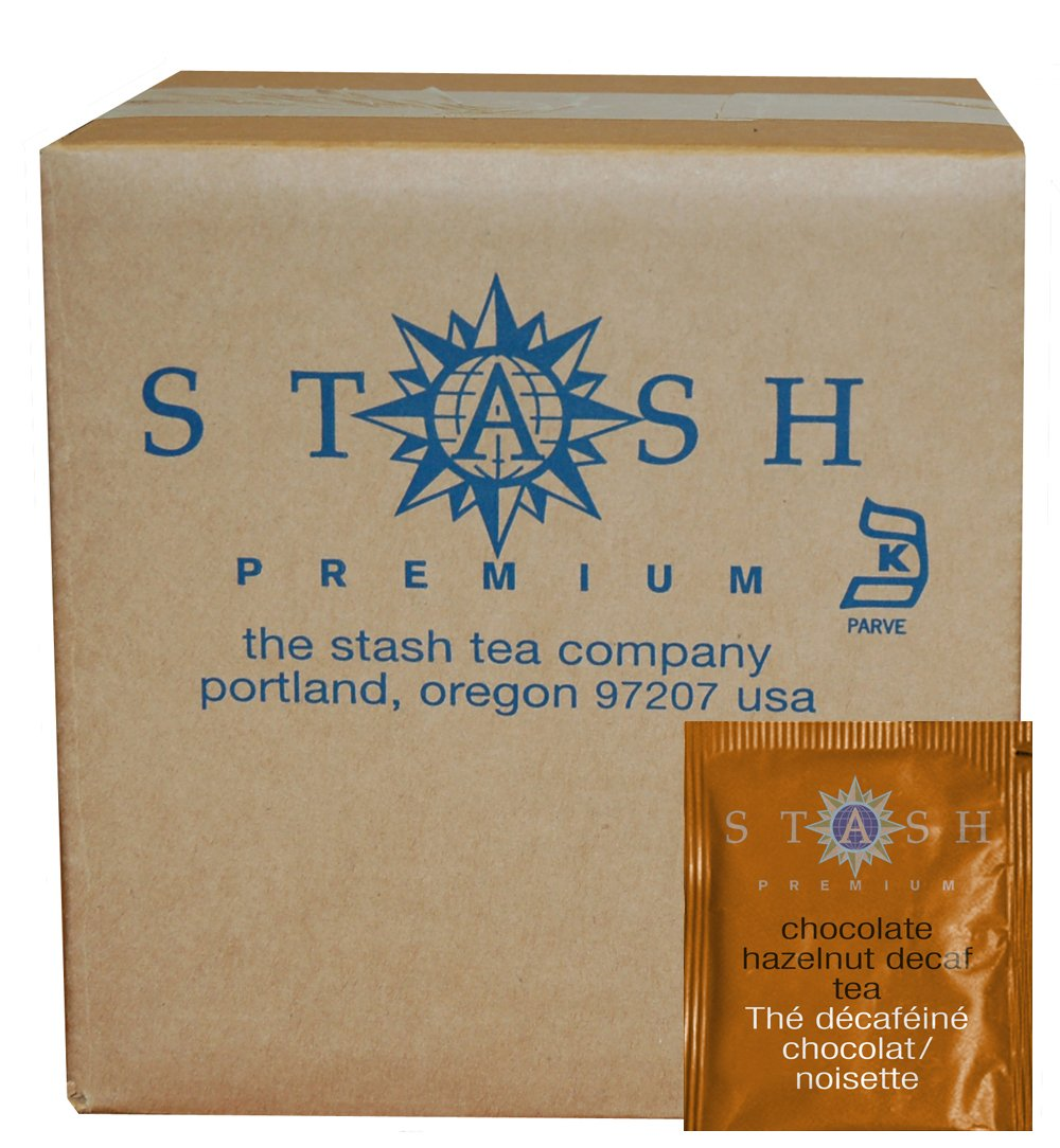 Amazon.com : Stash Tea Decaf Chocolate Hazelnut Black Tea, 100 ...