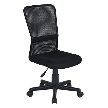 Aingoo Armless Mesh Computer Desk Chairs For Teens Kids Student Fit Small  Space Home Office Conference