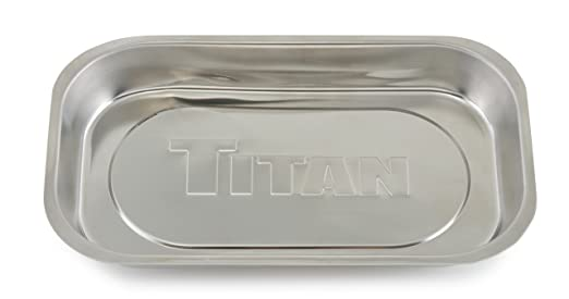 Amazon.com: Titan Tools 21265 Rectangular Magnetic Parts Tray (5-3/8