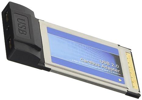 Cablematic - Tarjeta CARDBUS USB 2.0 2-Port (2AH): Amazon.es ...