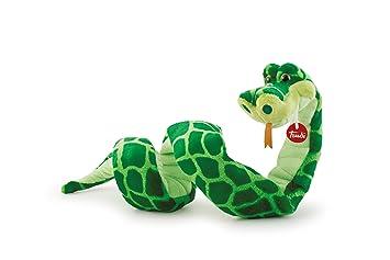 Trudi Serpente Peluche Serpiente Cyrano, color verde, 110 cm (27766)