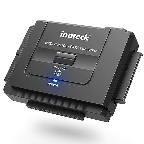 Inateck UA2001 - IDE/SATA a USB 3.0 Adaptador Docking Station Convertidor para 2.5