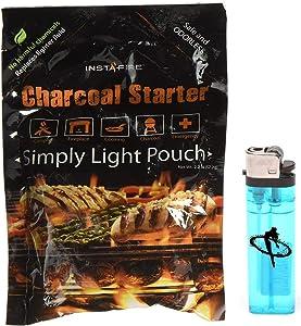 Instafire Charcoal Starter Plus Lighter Combo