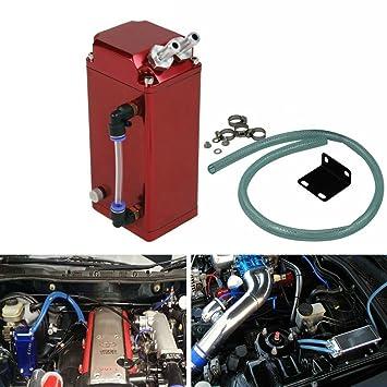 Lata para depósito de aceite de reserva, cuadrado de aluminio de palanquilla para motor ALLOYWORKS: Amazon.es: Coche y moto