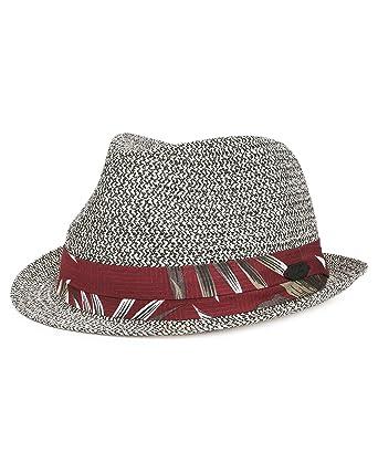 a1496ce1834 Amazon.com  Stetson Rowlett Toyo Straw Trilby Men  Clothing