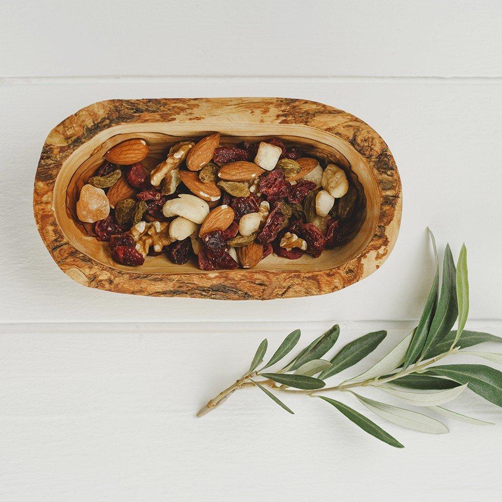 Naturally Med - Olive Wood Olive Serving Dish 5.5 inch