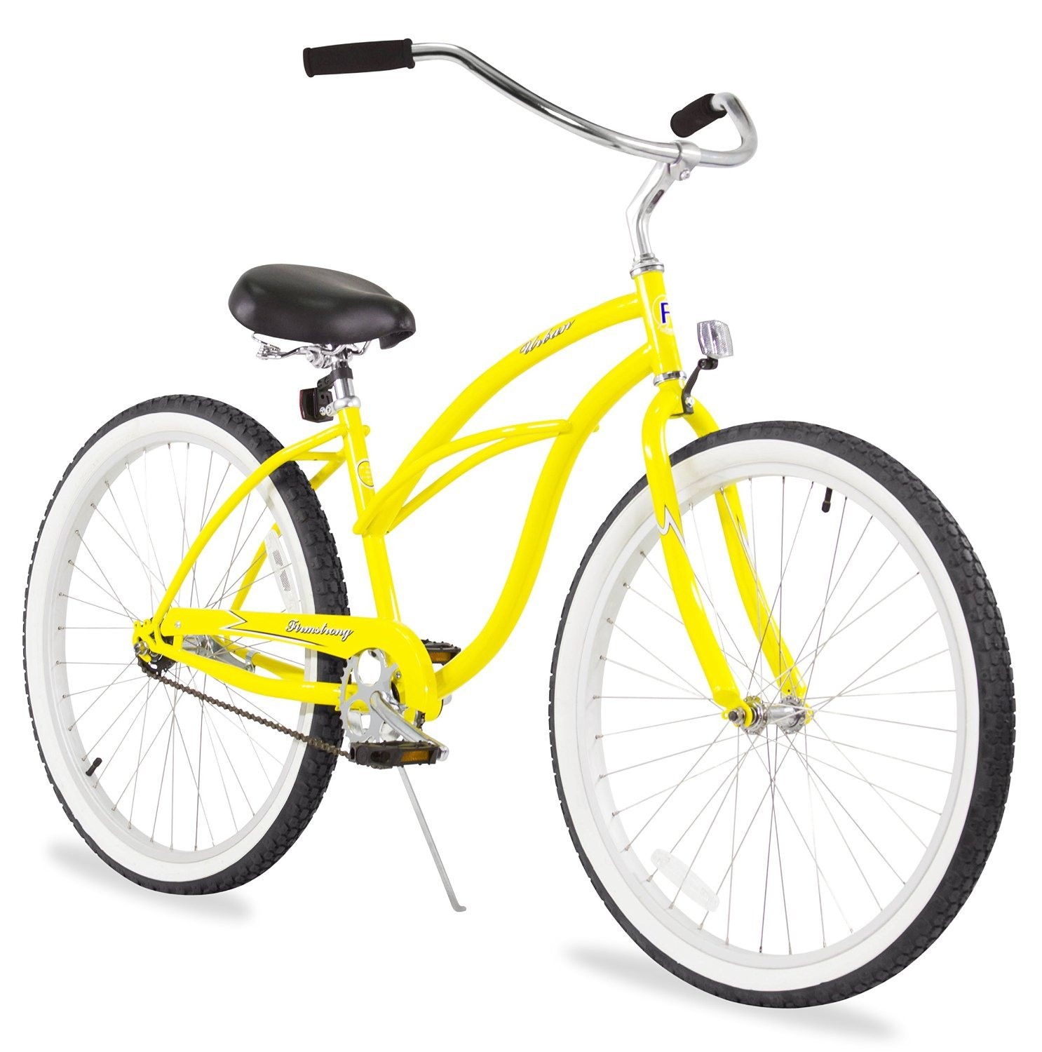 best yellow beach cruiser