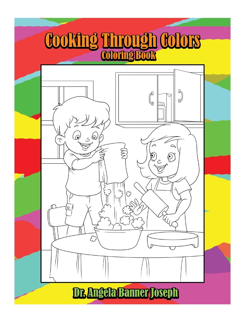 - Amazon.com: Cooking Through Colors Coloring Book (9781943945108