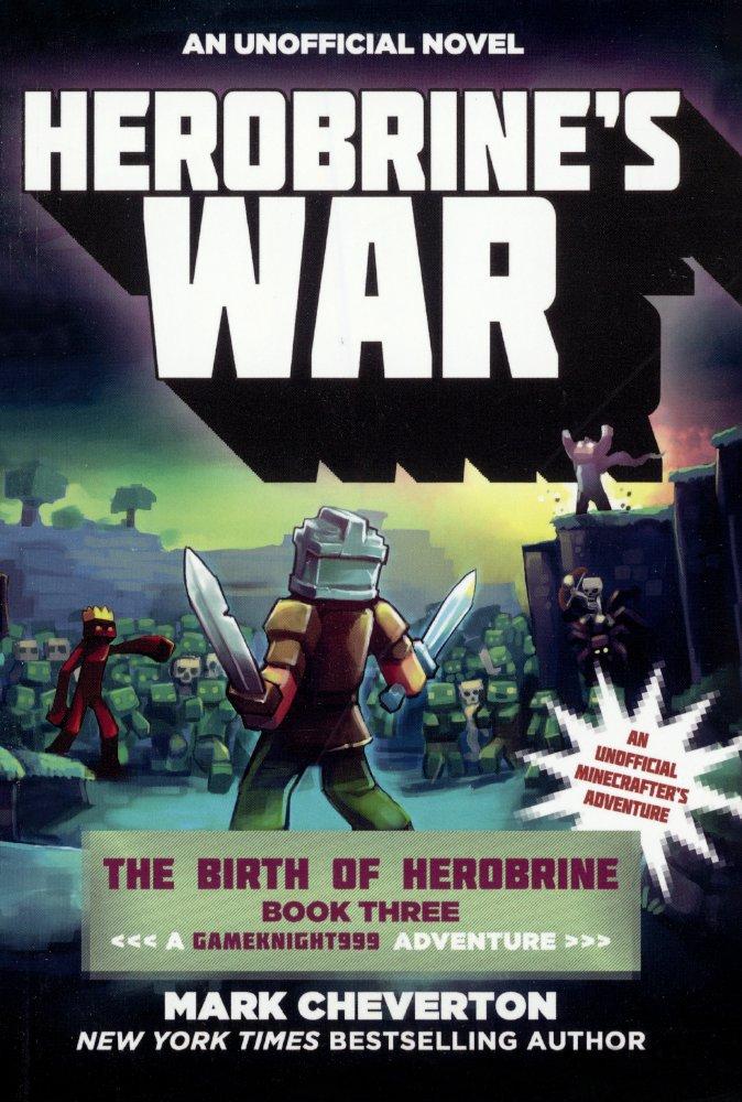 Download Herobrine's War (Turtleback School & Library Binding Edition) (Gameknight999) pdf epub