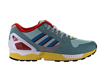 Mens Adidas ZX Flux Weave Hydra Turquoise Poppy
