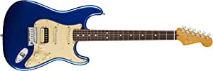 Fender American Ultra Stratocaster HSS - Cobra Blue with Rosewood Fingerboard