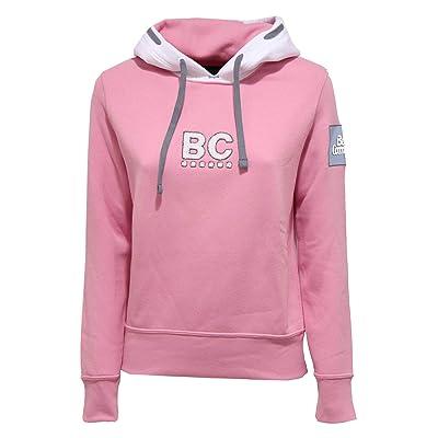 BEST COMPANY 1138K Felpa Donna Pink Heavy Sweatshirt Woman [XS]: Ropa y accesorios