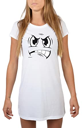 online store 6e251 09fb2 Goodman Design ® Lustiges Motiv Damen Nachthemd/Longshirt ...