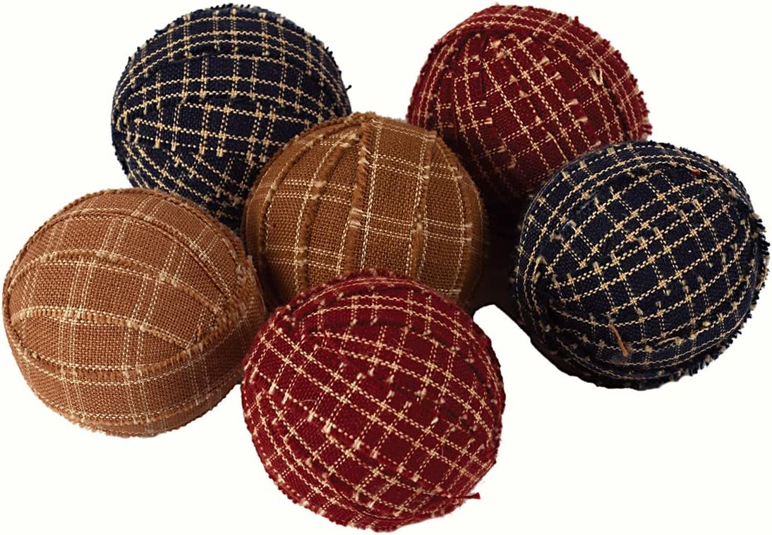 The Country House Collection Small Primitive Rag Balls Set