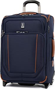 Travelpro Crew Versapack - Softside Expandable Upright Luggage, Patriot Blue, Carry-On 21-Inch