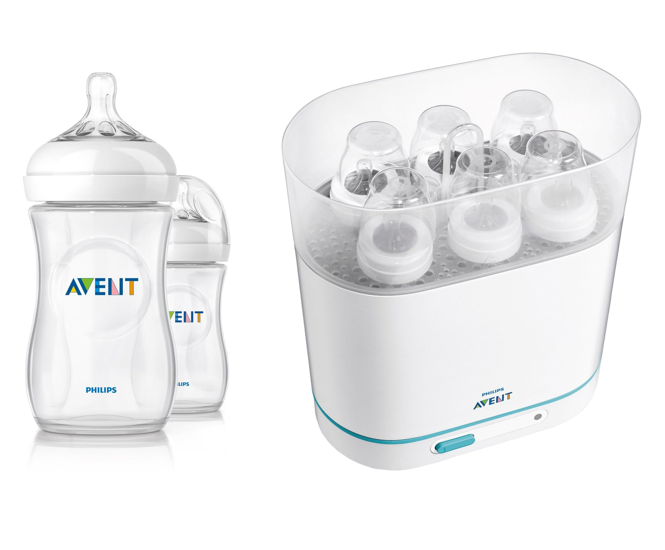 Philips AVENT Electric 3-in-1 Sterilizer with Bottles by Philips AVENT (Image #1)