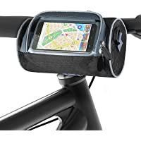 Aujelly Fietsstuurtas, waterdichte fietstas met grote capaciteit, fietstas met smartphone touchscreen, fietsaccessoire…