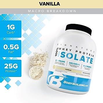 Amazon.com: Aislamiento de proteína de suero de leche 100 ...