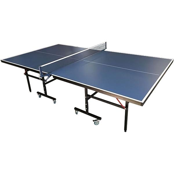 Garlando Mesa de Ping Pong Mesa de jardín para Exterior de Color ...