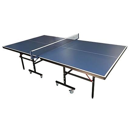 Simba Srl Mesa de Ping Pong Plegable Azul Medidas reglamentarias ...