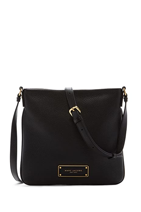 dbb806ba02c30 Marc by Marc Jacobs Sia Leather Crossbody Bag (Black)  Amazon.ca ...