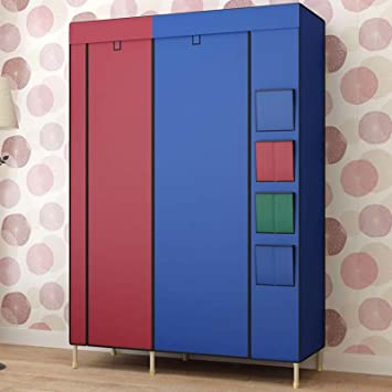 Generic Large Collapsible Wardrobe Portable Closet Family Creative Cabinet  Reinforced Bold Armoires