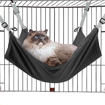 Cama de hamaca de gato de Tacobear colgando la cama suave del animal doméstico para el