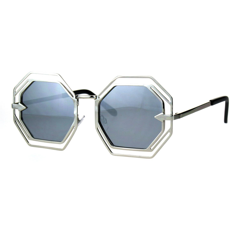 PASTL レディース B076GWBR9P Silver (Silver Mirror)|55.5 ミリメートル Silver (Silver Mirror)