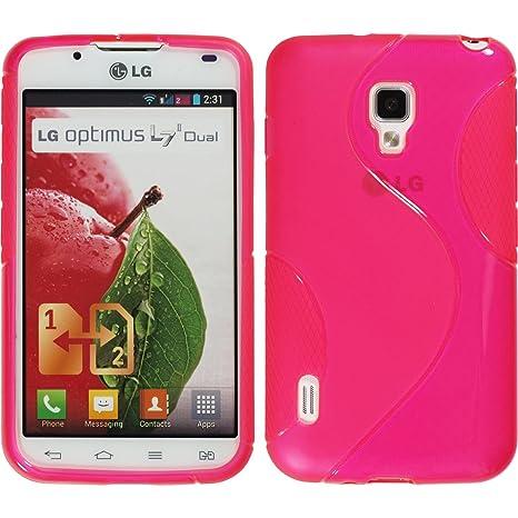 9c7461a0c3d PhoneNatic Funda de silicona para LG Optimus L7 II Dual: Amazon.es:  Electrónica