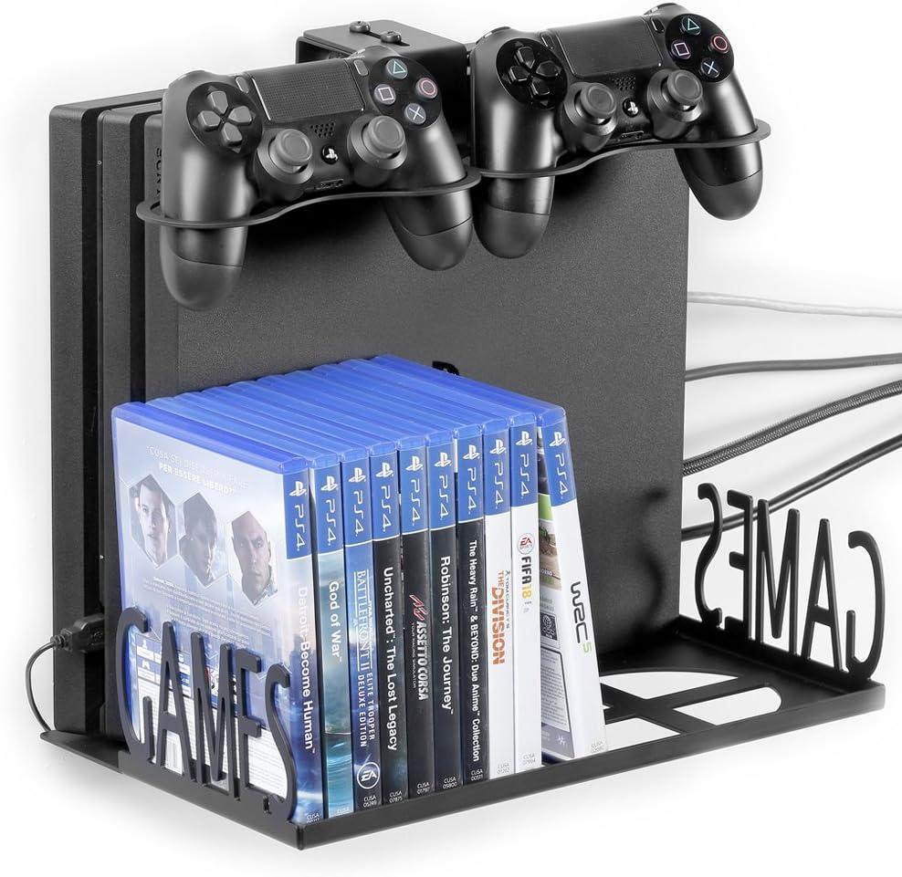 Borangame GameVspaceSwap Soporte Vertical para PS4, PS4 Slim y PS4 ...
