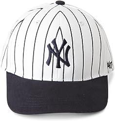 47 Brand MLB New York Yankees MVP Cap - Pinstripe Kids 36a8d1b04a3