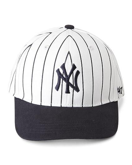 492260b2056 47 Brand New York Yankees MLB Infant Basic MVP Cap - Navy Blue (Pinstripe  White