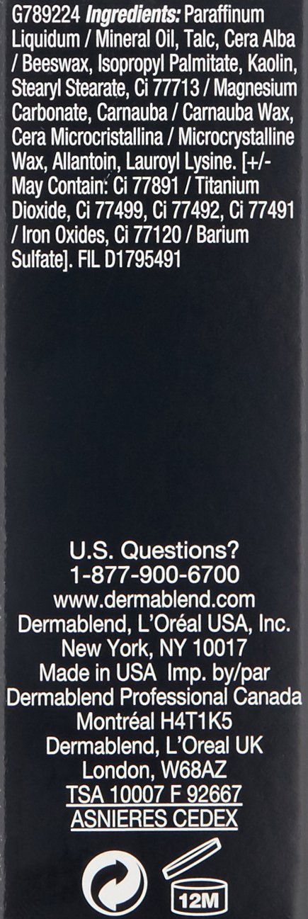Dermablend Quick-Fix Body Makeup Full Coverage Foundation Stick,10C Nude, 0.42 Oz. by Dermablend (Image #9)