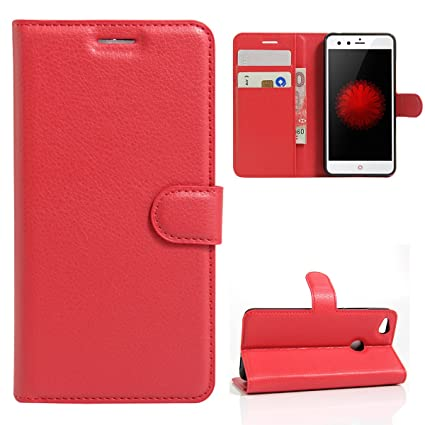new product c4d79 53917 Amazon.com: Torubia ZTE Nubia Z11 Mini Case Luxury PU Leather Wallet ...