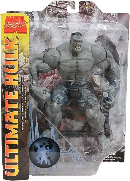 Marvel Select Ultimate Hulk Action Figure Gray