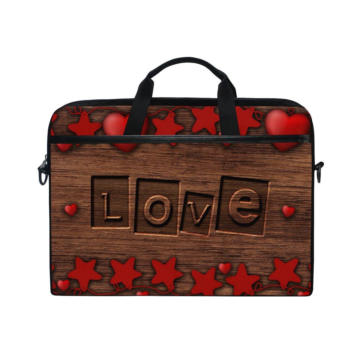 Bennigiry Romantic Romantic Bennigiry Love - Funda Bandolera para Ordenador Portátil DE 14 a 15,6 Pulgadas 0fc978