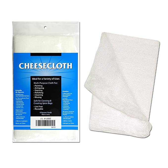 DeRoyal CCB4YD 4 Yards Grade 10 Cheesecloth, White