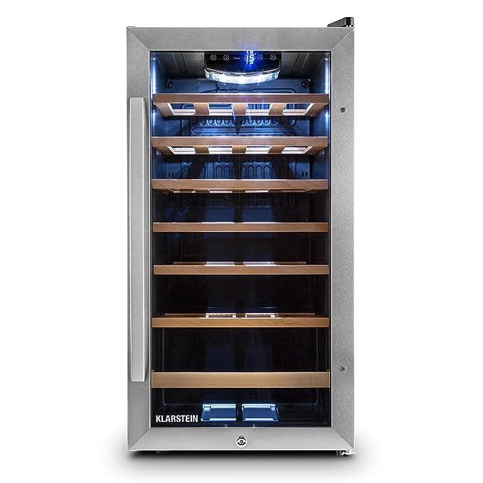34 opinioni per Klarstein Vivo Vino 26 • frigorifero per vini e bevande • 88 L • 26 bottiglie •