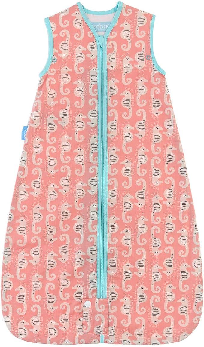 The Gro Company Tommee Tippee GRO Caballito de mar Saco de dormir Grobag con bolsa de tela para Transportar, 0-6m, 0.5 tog: Amazon.es: Bebé