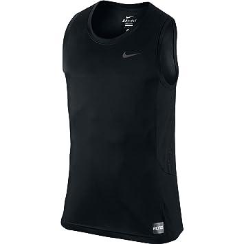 Nike Elite Hybrid Tank Camiseta sin Mangas, Hombre, (Negro/Anthracite), S: Amazon.es: Deportes y aire libre