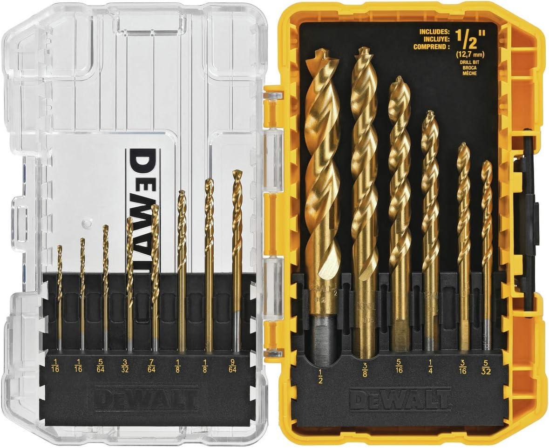 DEWALT 14-Piece Titanium Drill Bit Set (DW1354)