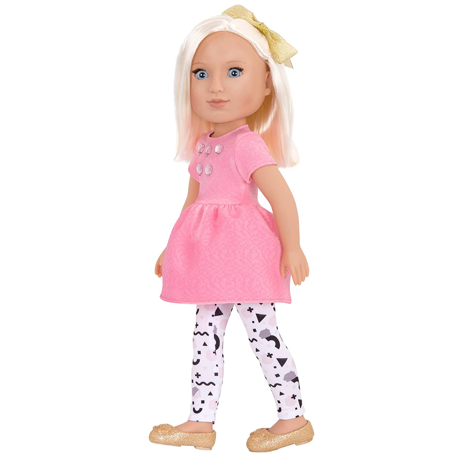 Amazon.com: Glitter Girls by Battat - Elula 14 inch Non Posable Fashion  Doll - Dolls for Girls Age 3 and Up: Toys & Games