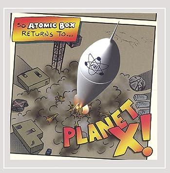 amazon planet x atomic box 輸入盤 音楽