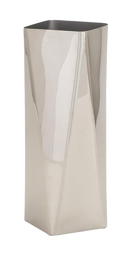 Amazon Benzara The Digital Stainless Steel Vase Home Kitchen
