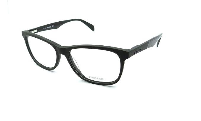 Amazon.com: Diesel Rx Eyeglasses Frames DL5208 097 55-15-145 Matte ...
